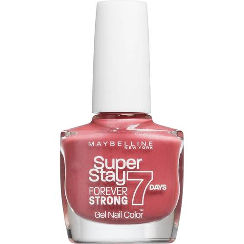 Maybelline forever strong uñas 20, uptown blue, 10 ml