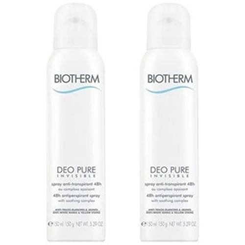 Biotherm pack desodorante pure invisible spray 48 h, 150 ml