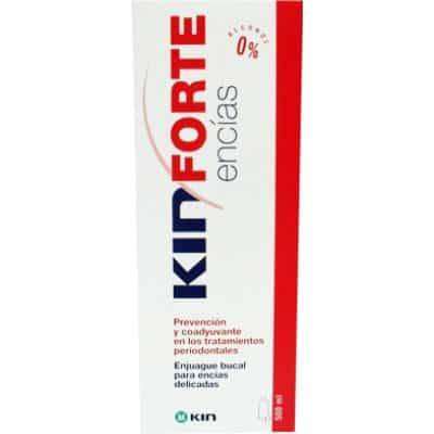 Kin enjuague bucal forte encías, 500 ml