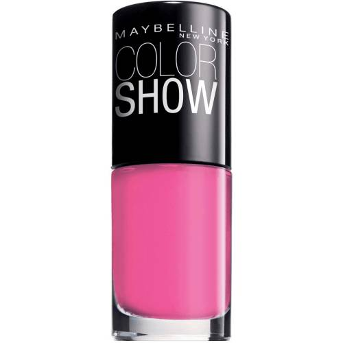 Maybelline unas vao color show 352,downtown red