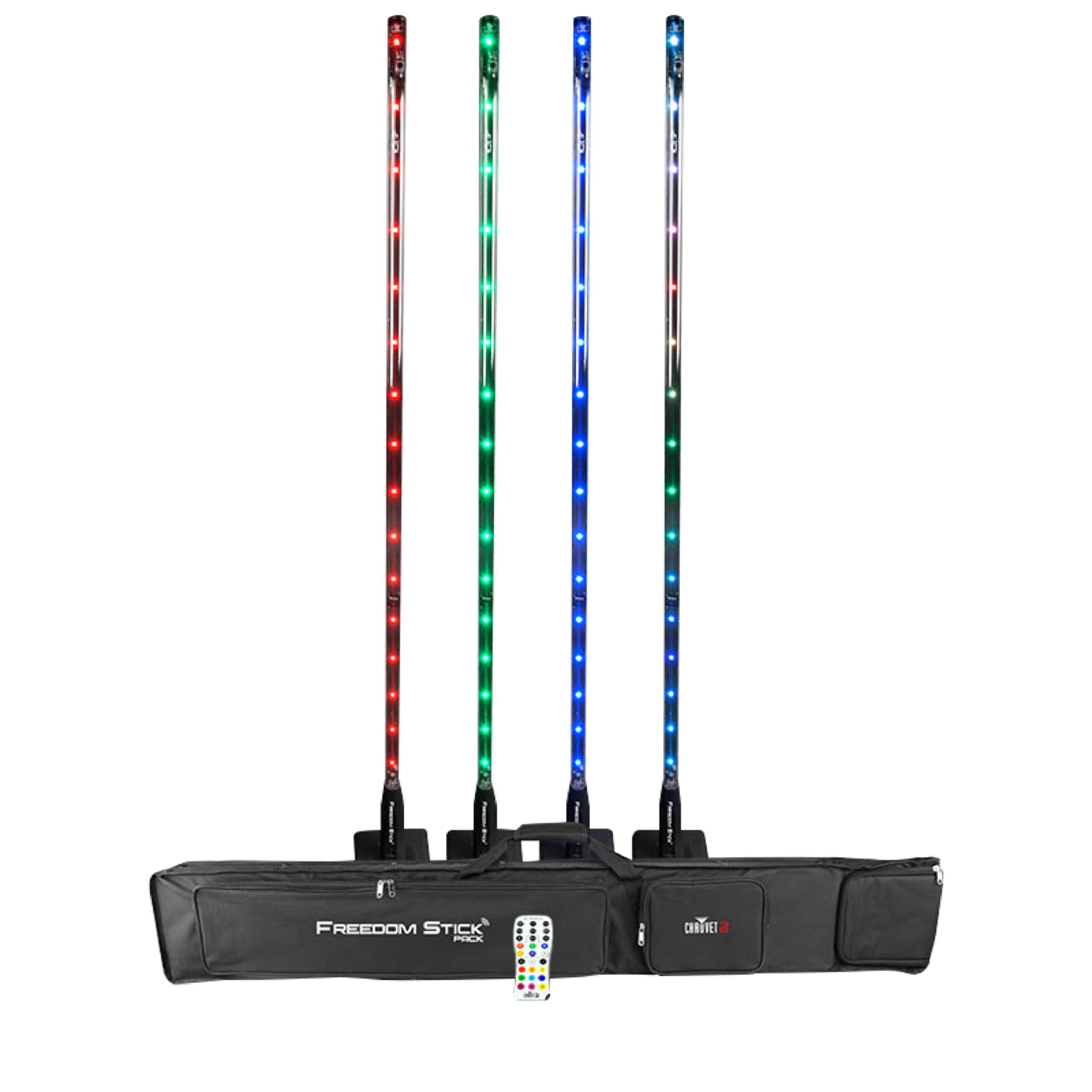 Chauvet DJ Freedom Stick Pack incl. Bag Charger, IRC-6