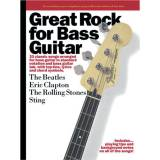 Wise Publications Great Rock for Bass Guitar Bass TAB