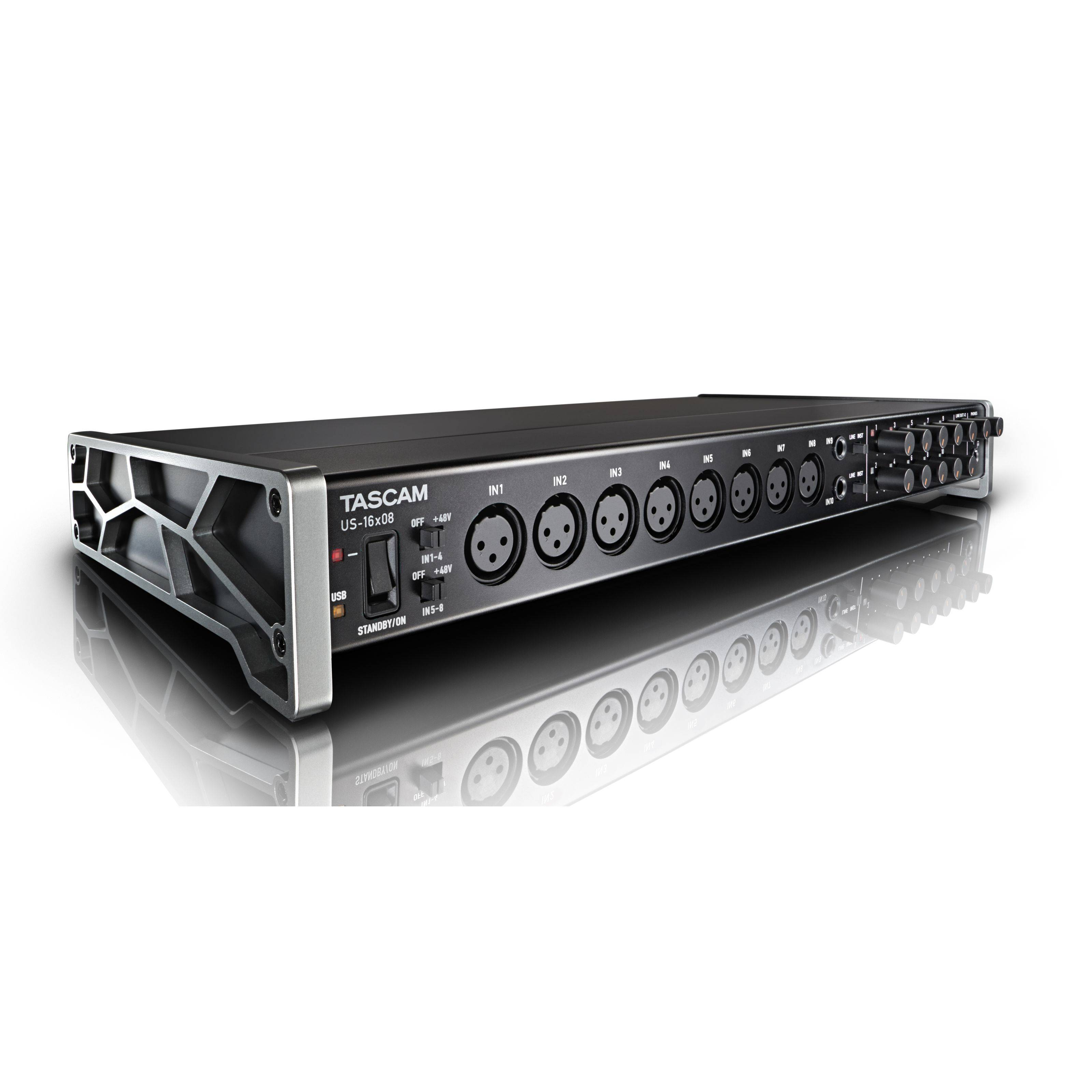 Tascam US-16x8 Interface USB de audio