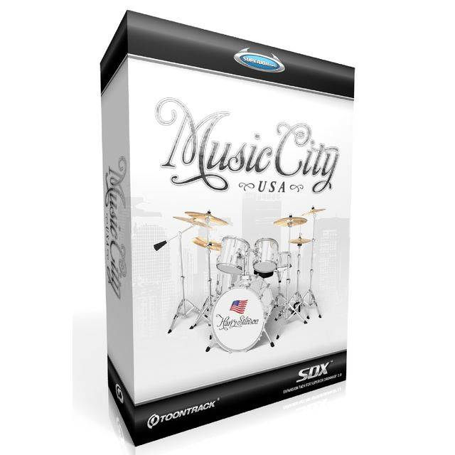 Toontrack SDX Music City USA Superior Drummer Library