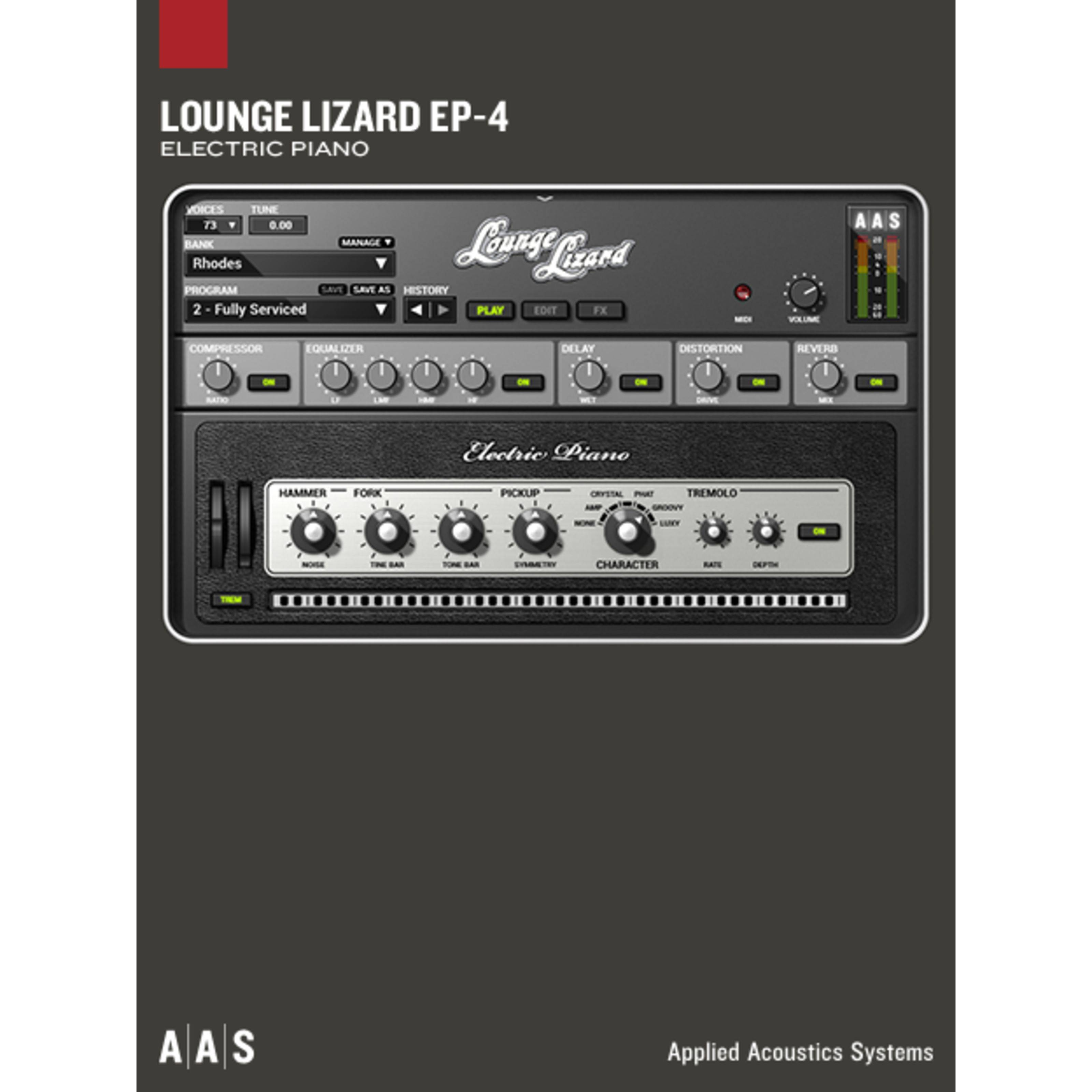 Applied Acoustic Systems AAS Lounge Lizard EP-4