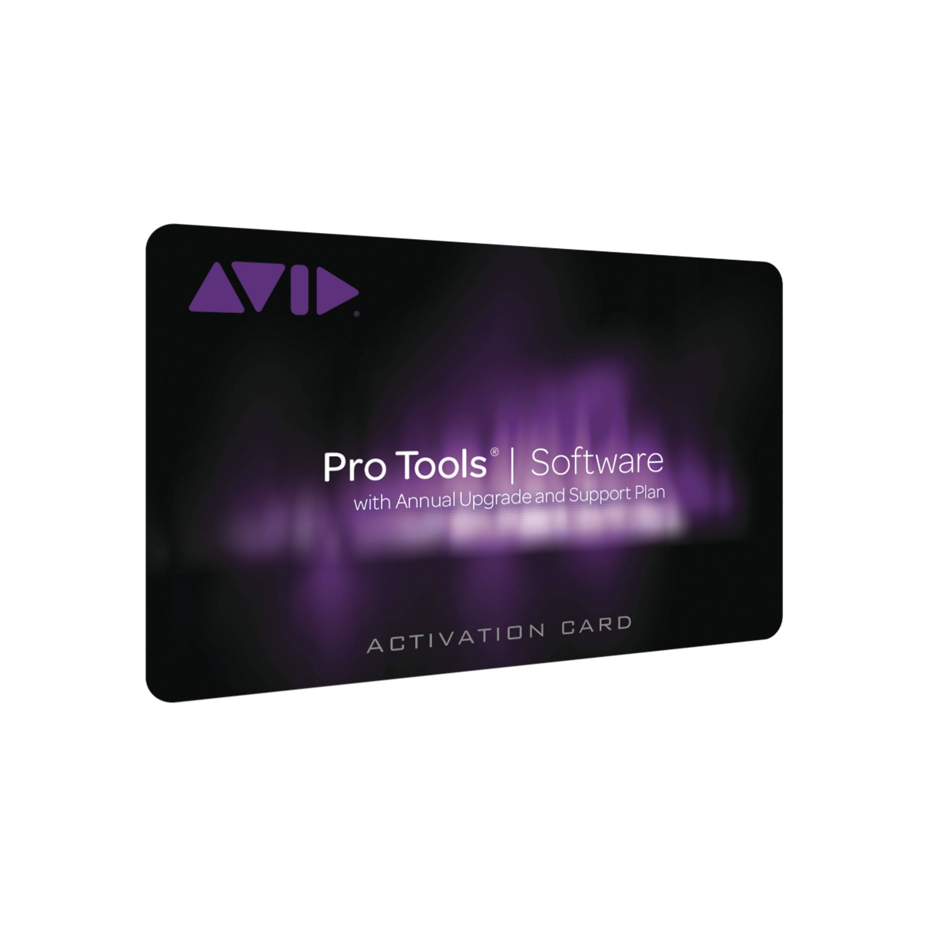 Avid Pro Tools Upgrade and Supportplan Education for Teacher and Students