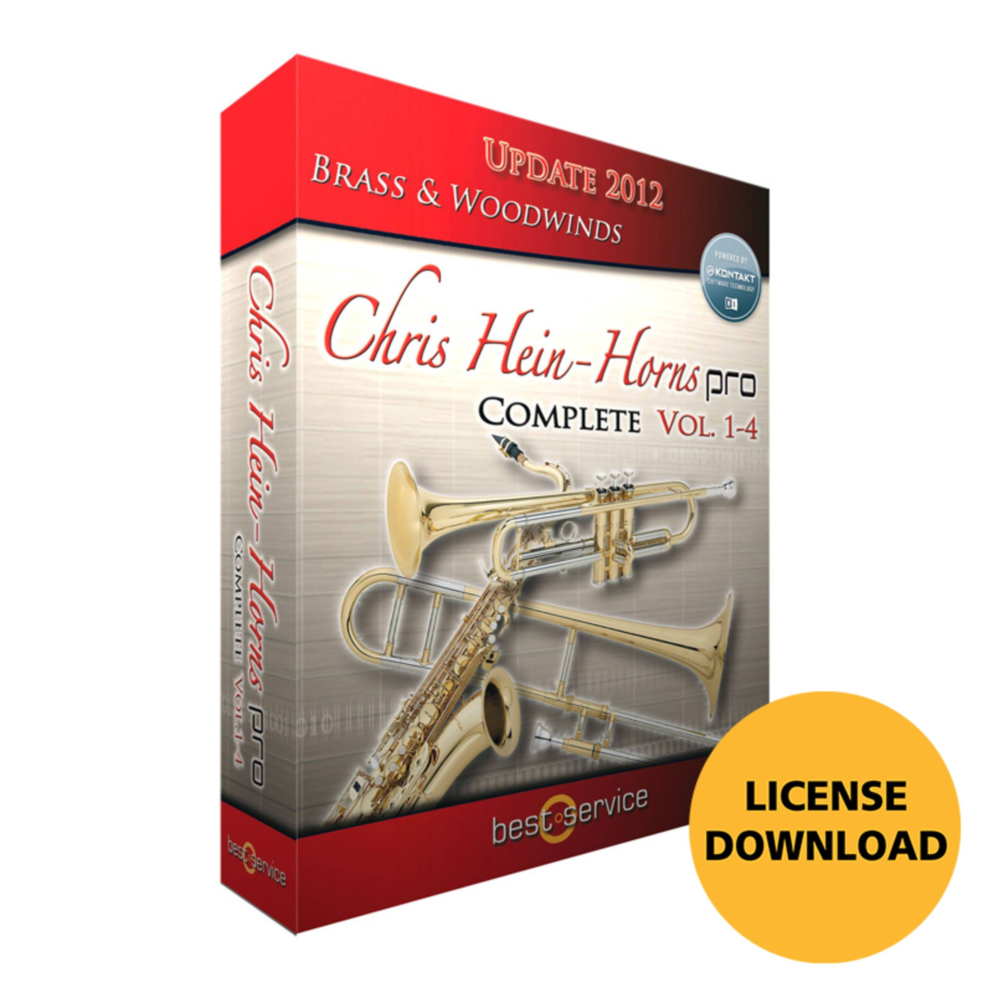 Best Service Chris Hein Horns Pro Complete Software-Instrumento