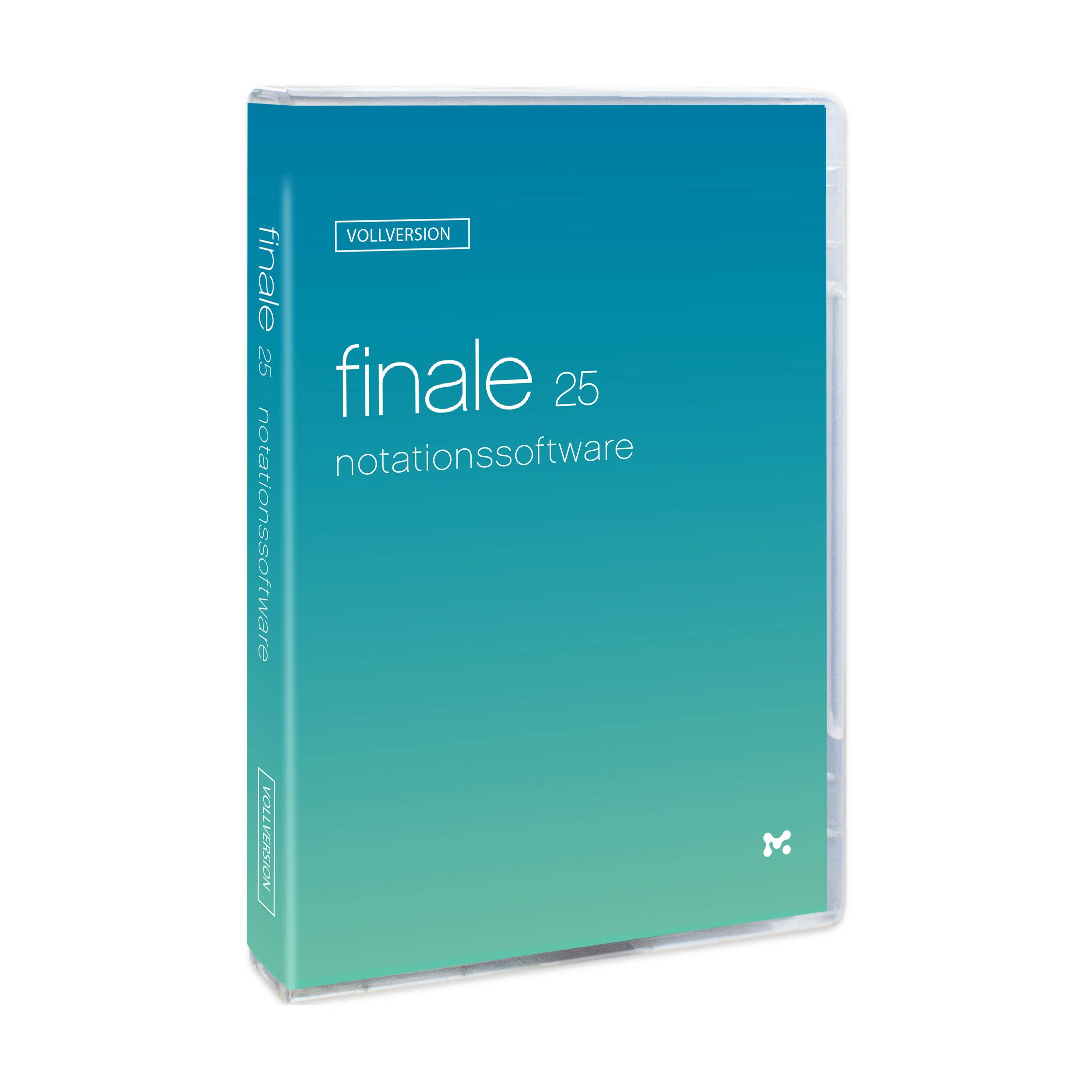 MakeMusic Finale 25 (DEAL inkl. Workshop DE)
