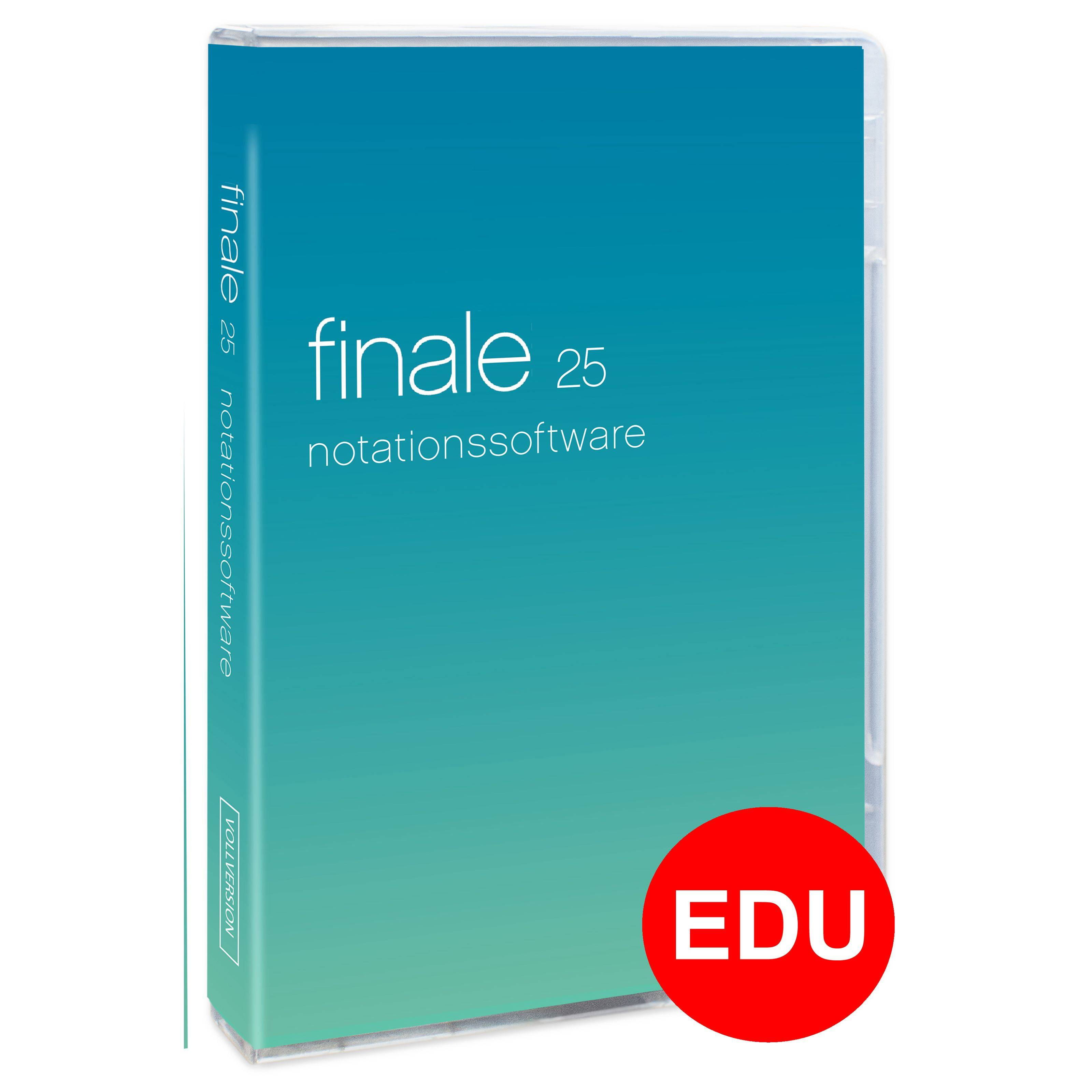 MakeMusic Finale 25 EDU (DEAL inkl. Workshop DE)