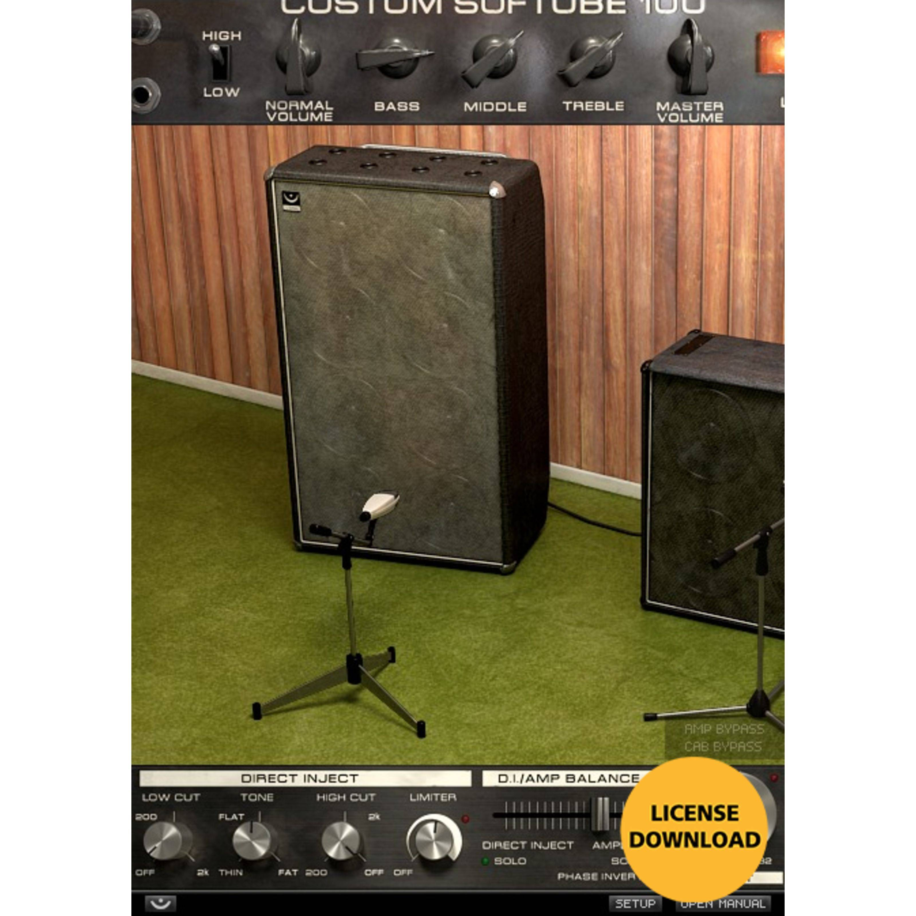 Softube Bass Amp Room Licencia