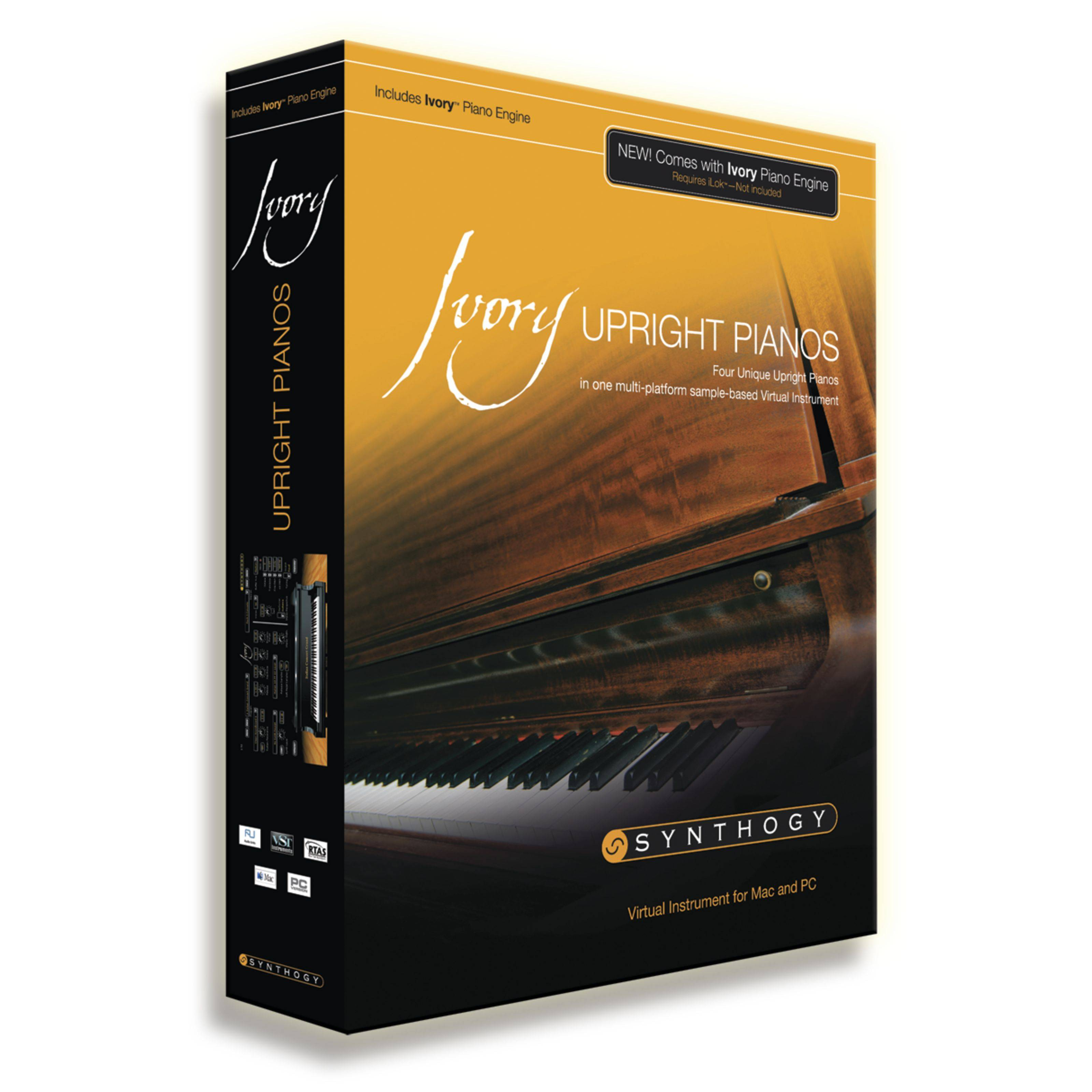 Synthogy Ivory Upright Pianos (iLok key es necesario!)