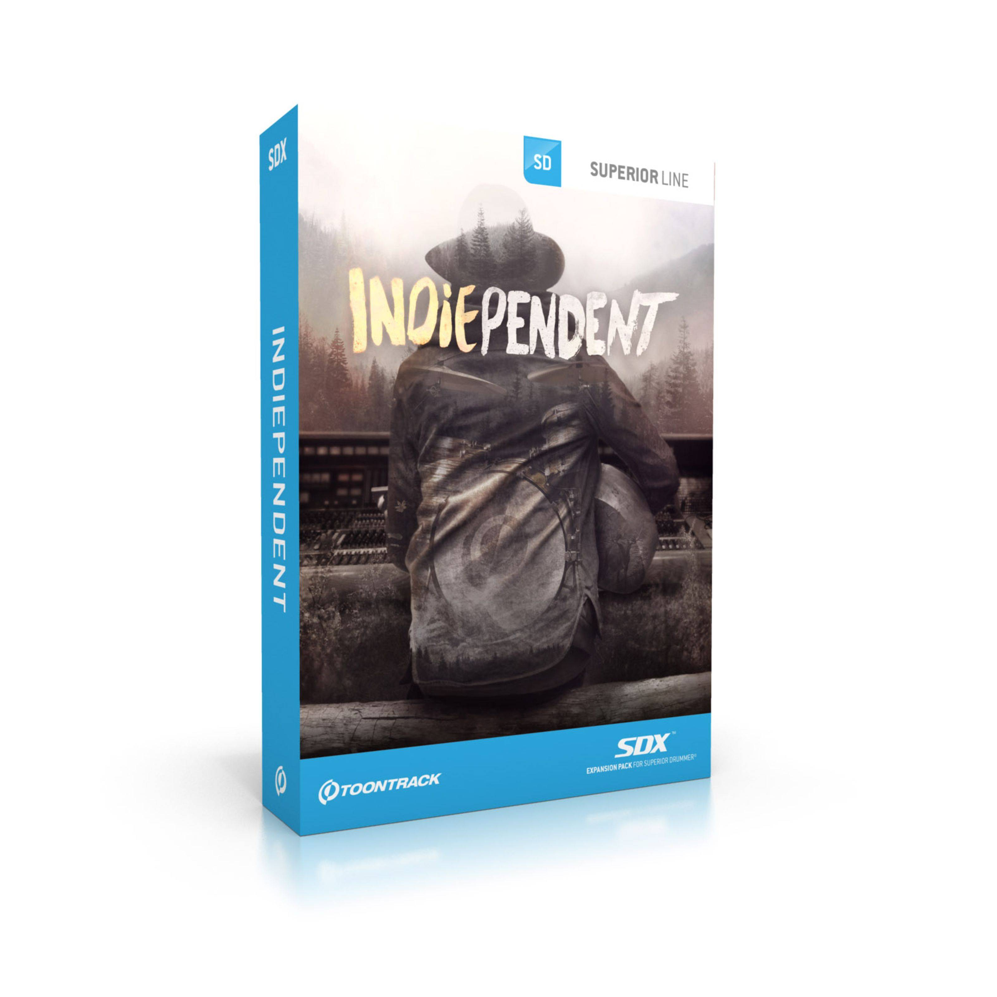 Toontrack SDX Indiependent Superior Drummer 2 Library