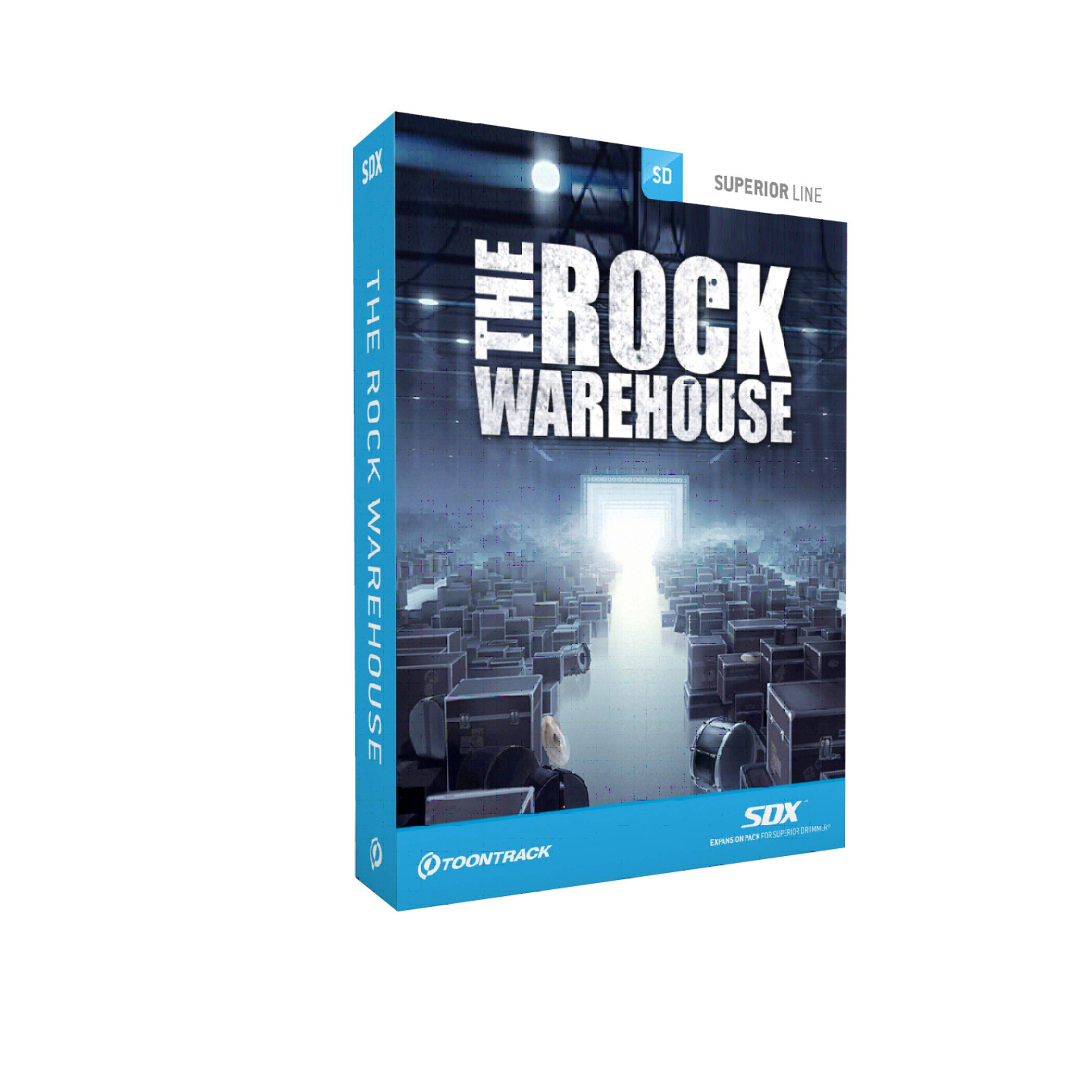 Toontrack SDX The Rock Warehouse Superior Drummer Library