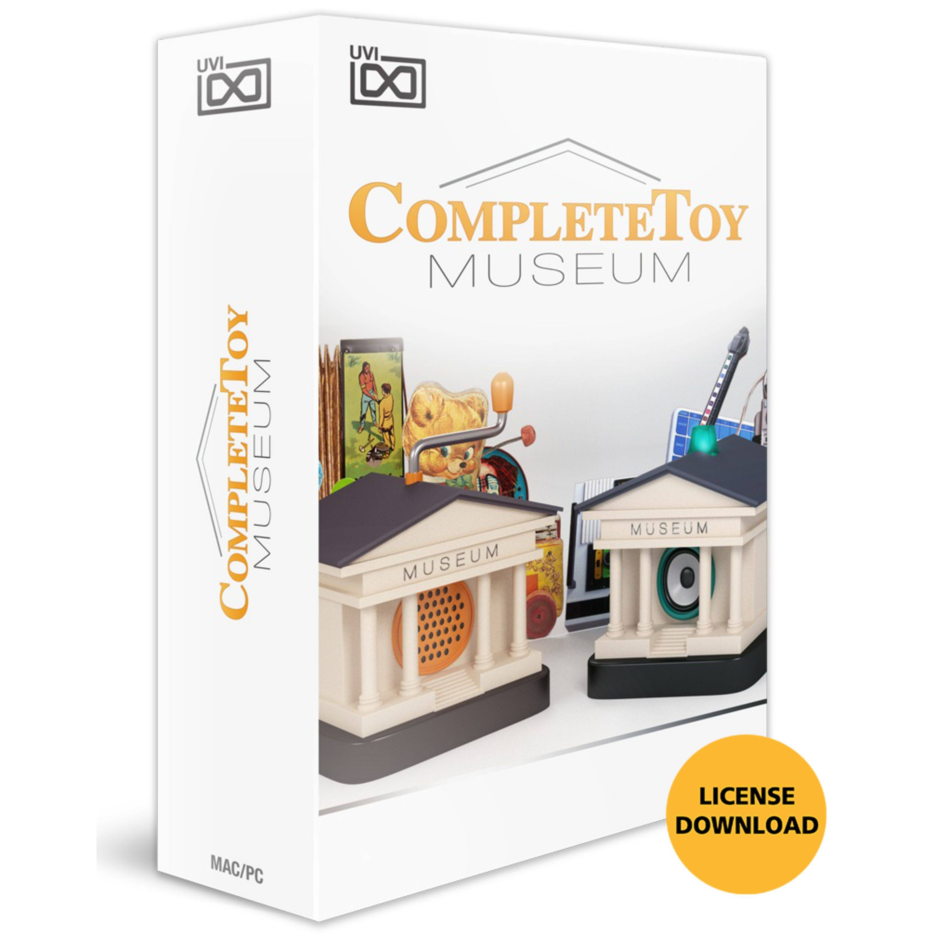 UVI Complete Toy Museum CODE
