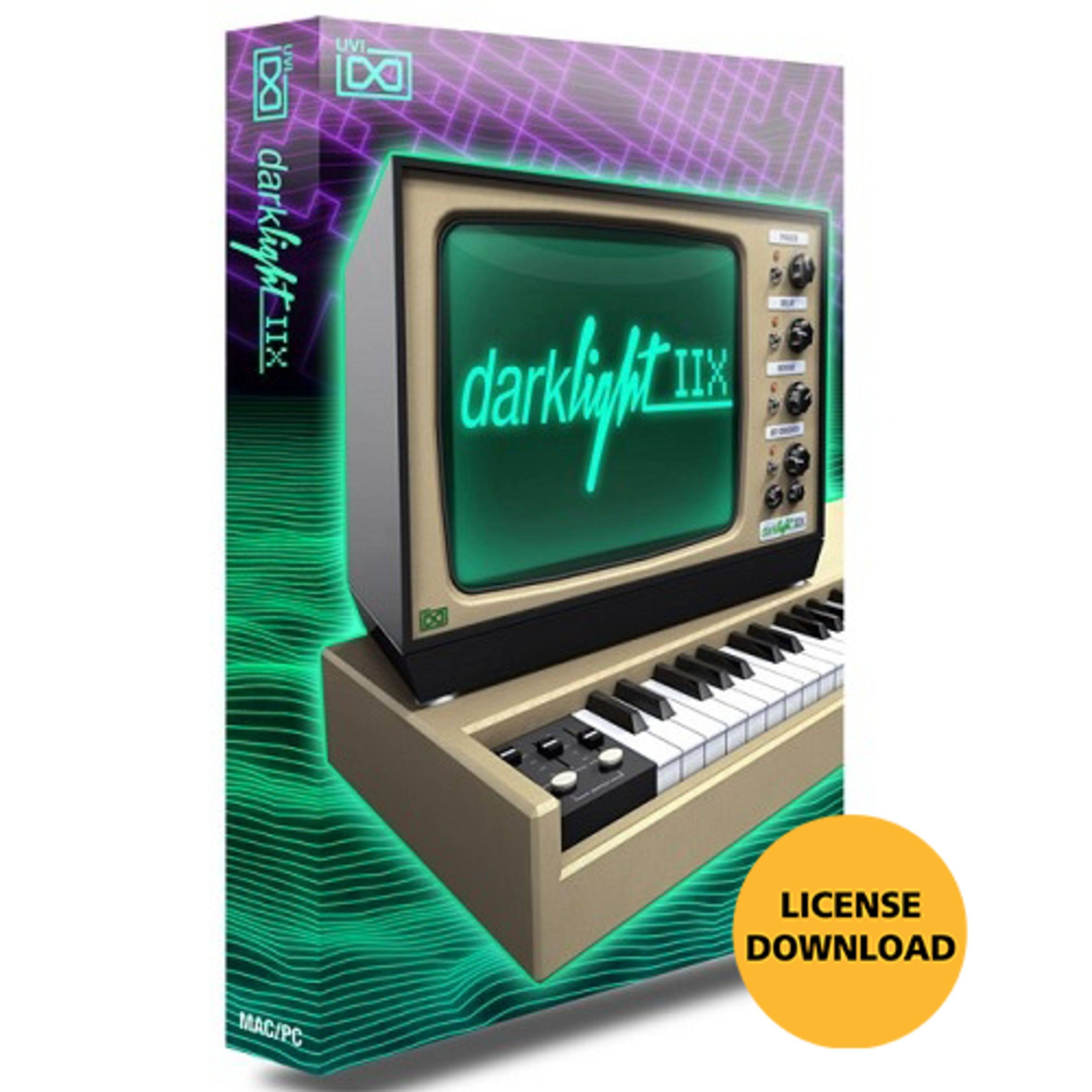 UVI Darklight IIx CODE Software Sintetizador