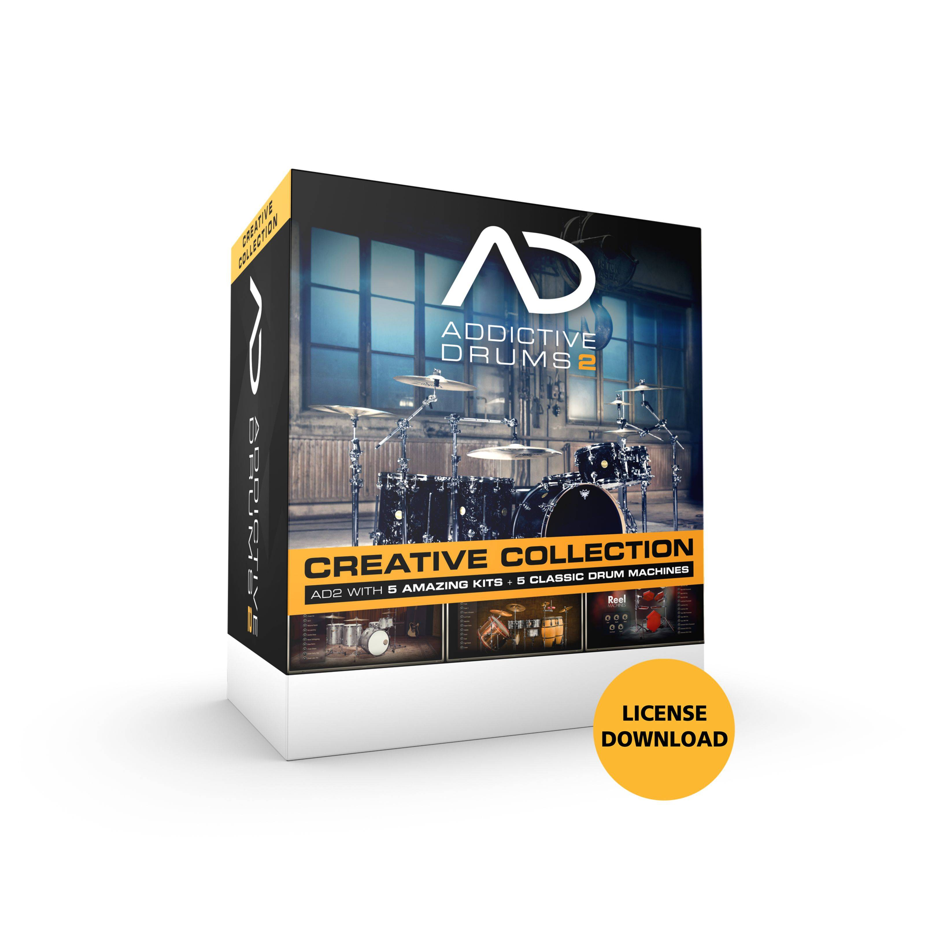 XLN Audio Addictive Drums 2 Bundle License Code