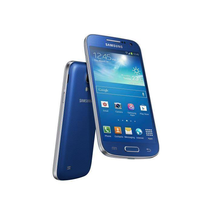 Samsung Galaxy S4 mini 8 Gb 4G Azul Libre
