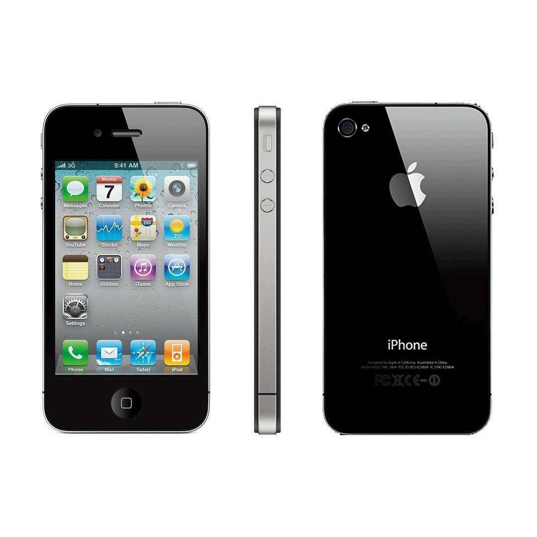 Apple iPhone 4 8 Gb Negro Libre
