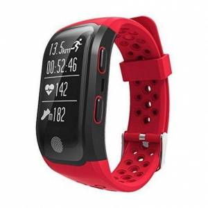 LEOTEC Smartband Leotec GPS Training Band Rojo