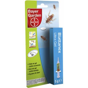 Bayer Blattanex Bayer Ultra Gel 5g insecticide cockroaches