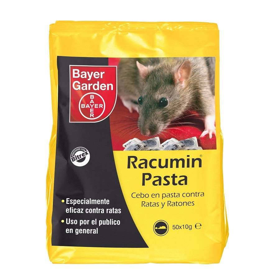 Bayer Bait Racumin paste against rats and mice 500gr