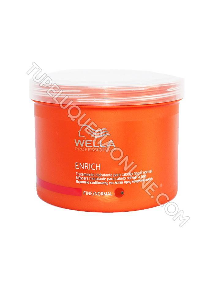 Wella Care Enrich Mascarilla Cabello Fino/Normal 500ml