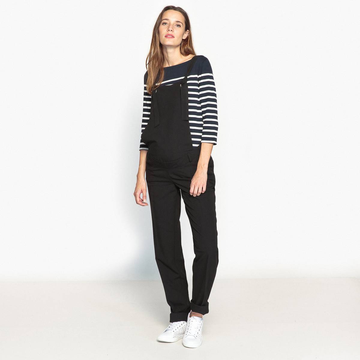 La Redoute Collections Peto de embarazo corte slim negro