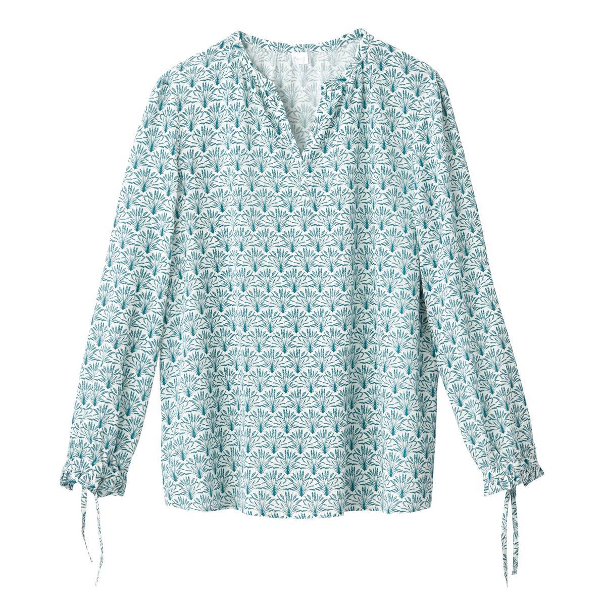 La Redoute Collections Blusa de viscosa para embarazo verde