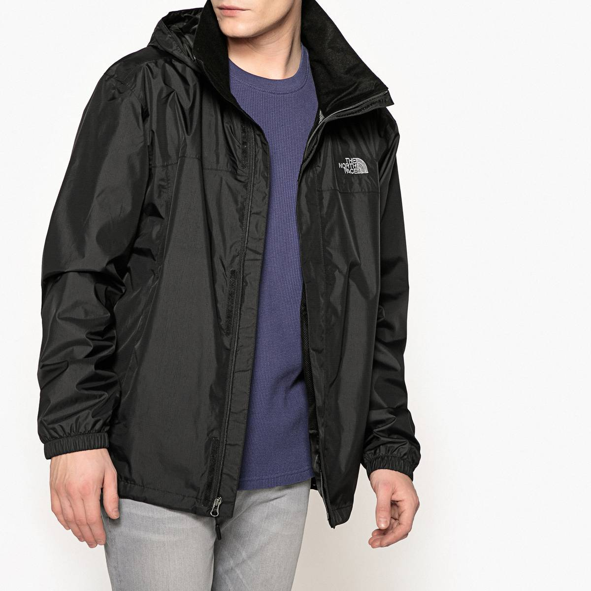 THE NORTH FACE Chaqueta impermeable cortaviento Resolve 2 negro