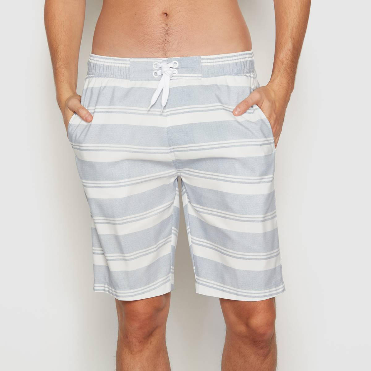 La Redoute Collections Boardshort a rayas azul