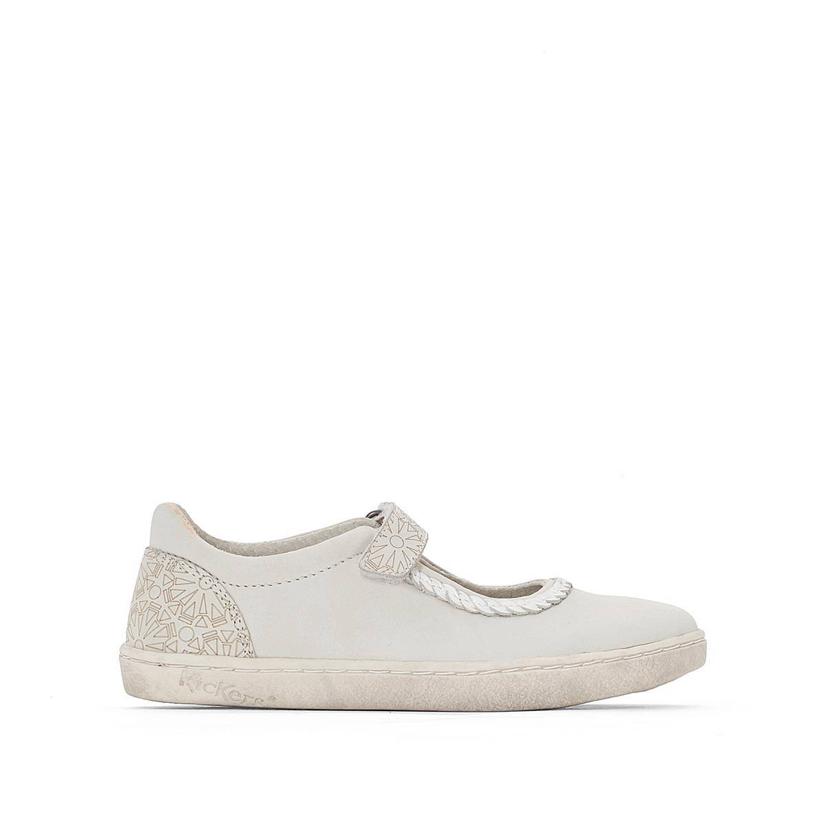 KICKERS Zapatos tipo babies Lydie blanco