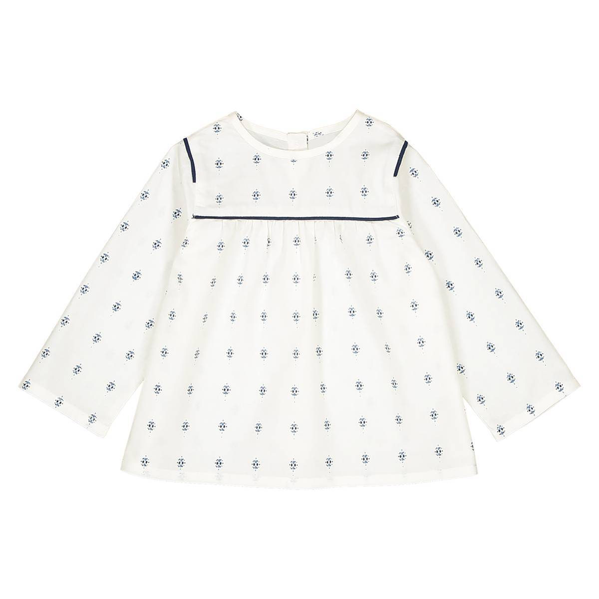 La Redoute Collections Blusa estampada 1 mes - 3 años blanco