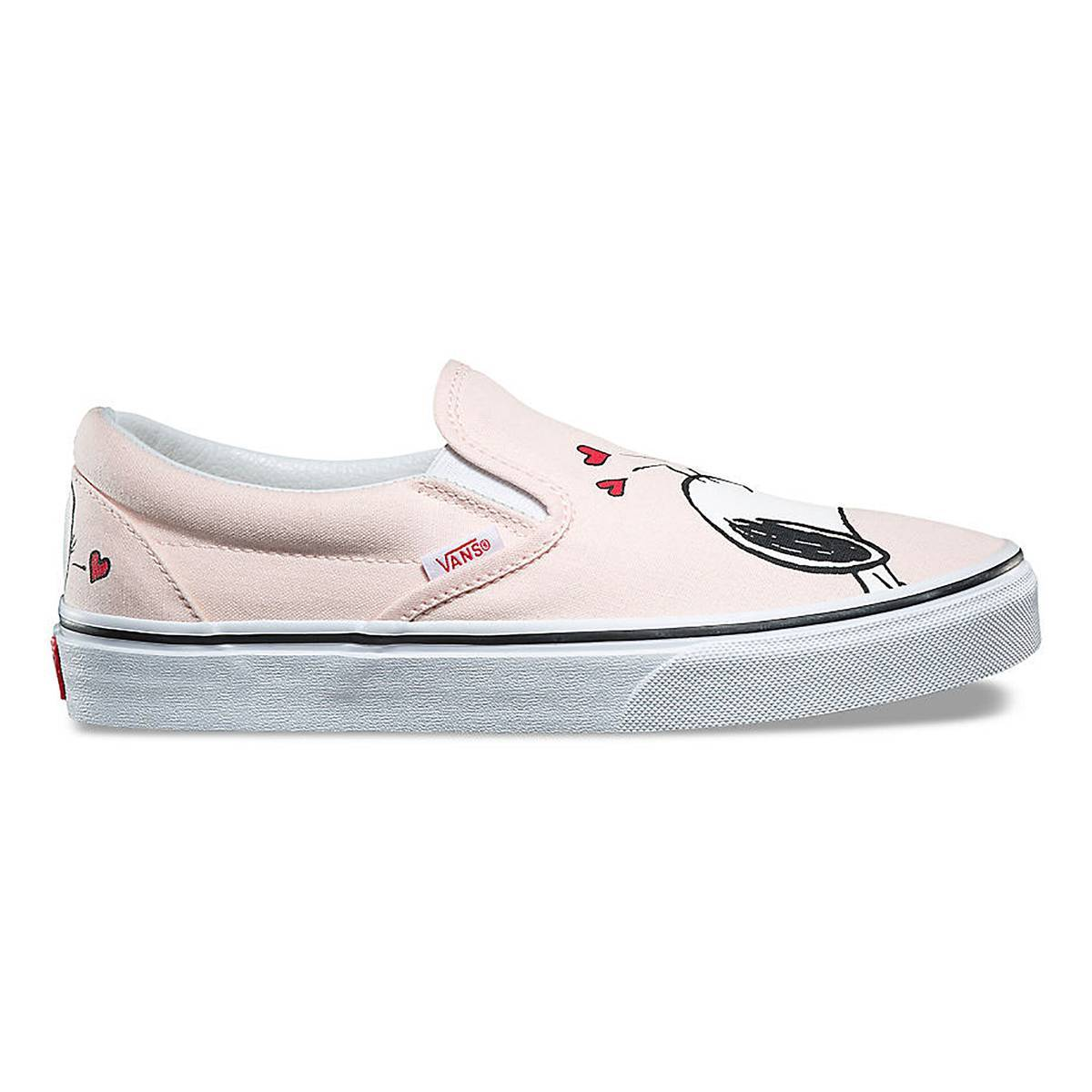 VANS Slip on Snoopy  UA rosa