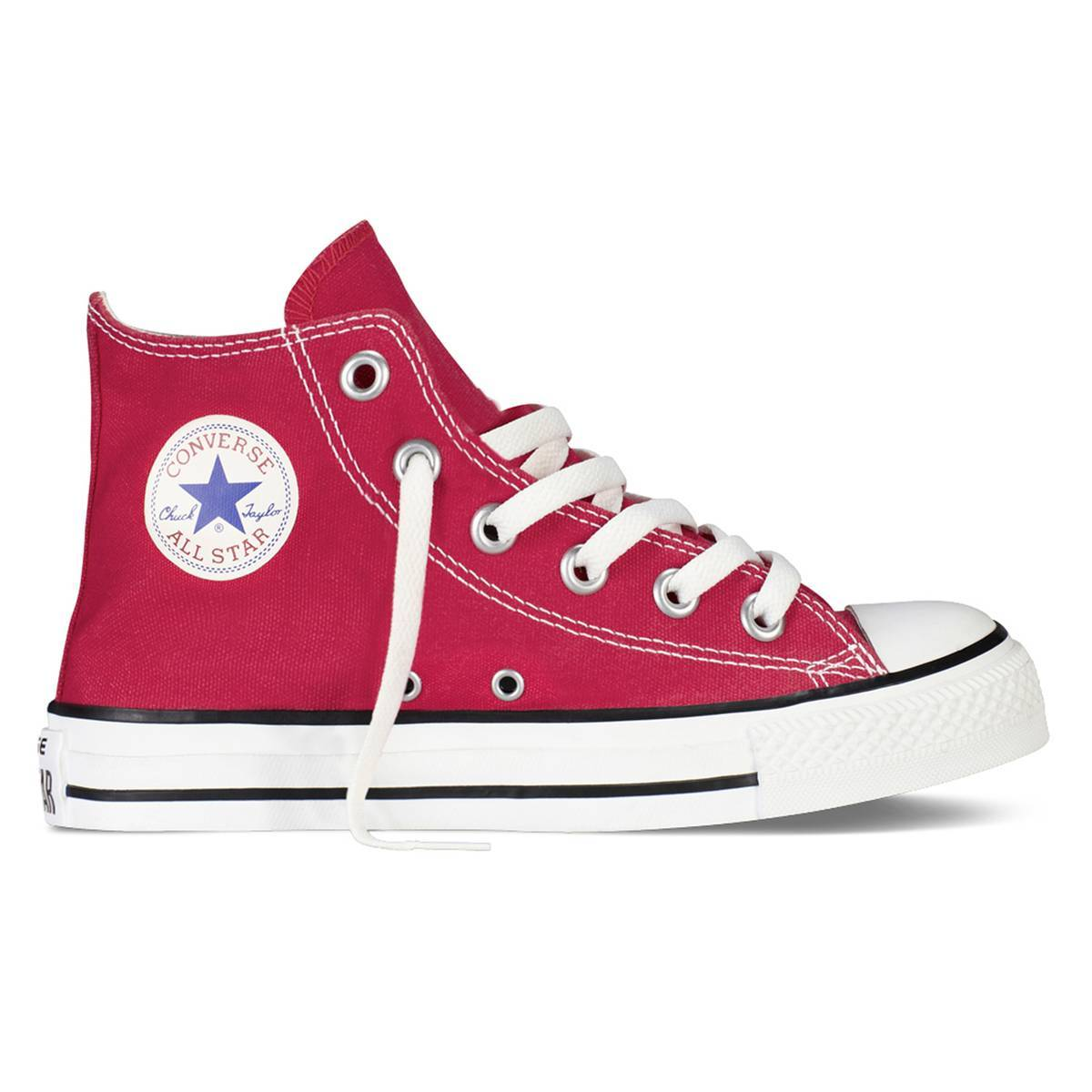 Converse Zapatillas de caña alta Chuck Taylor All Star Hi Canvas rojo