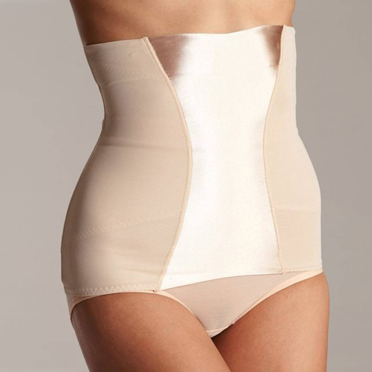 MAIDENFORM Ceñidor de cintura moldeador EASY UP PULL ON de MAIDENFORM beige