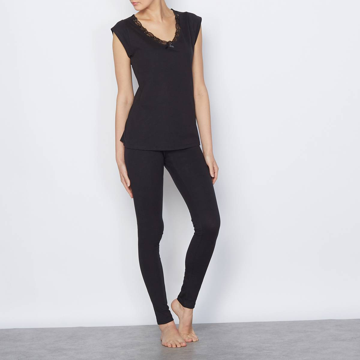La Redoute Collections Pijama negro