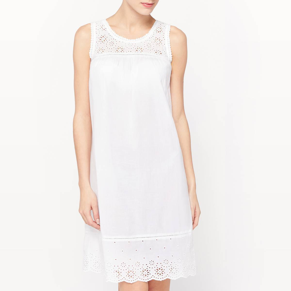 La Redoute Collections Camisón blanco