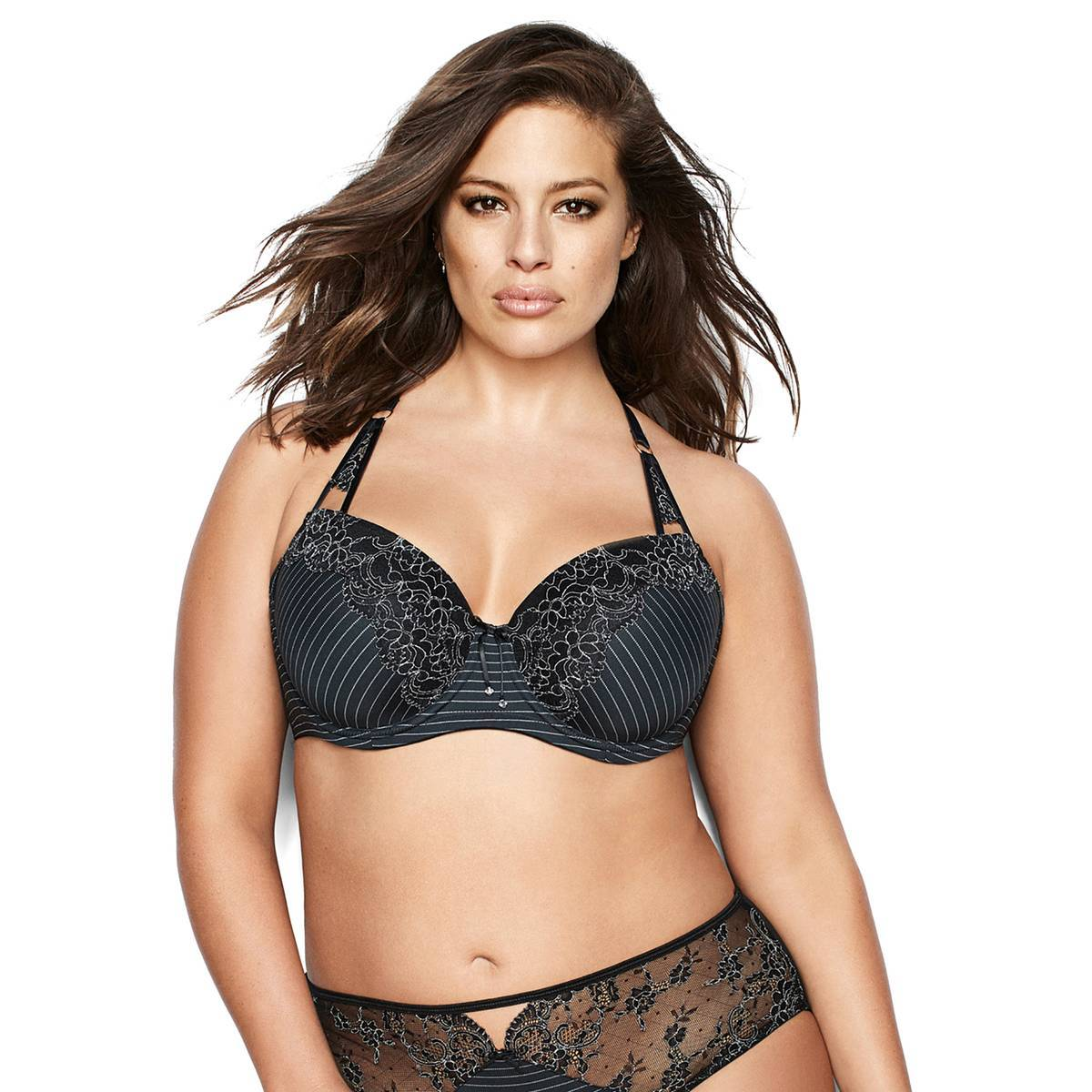 ASHLEY GRAHAM Sujetador negro