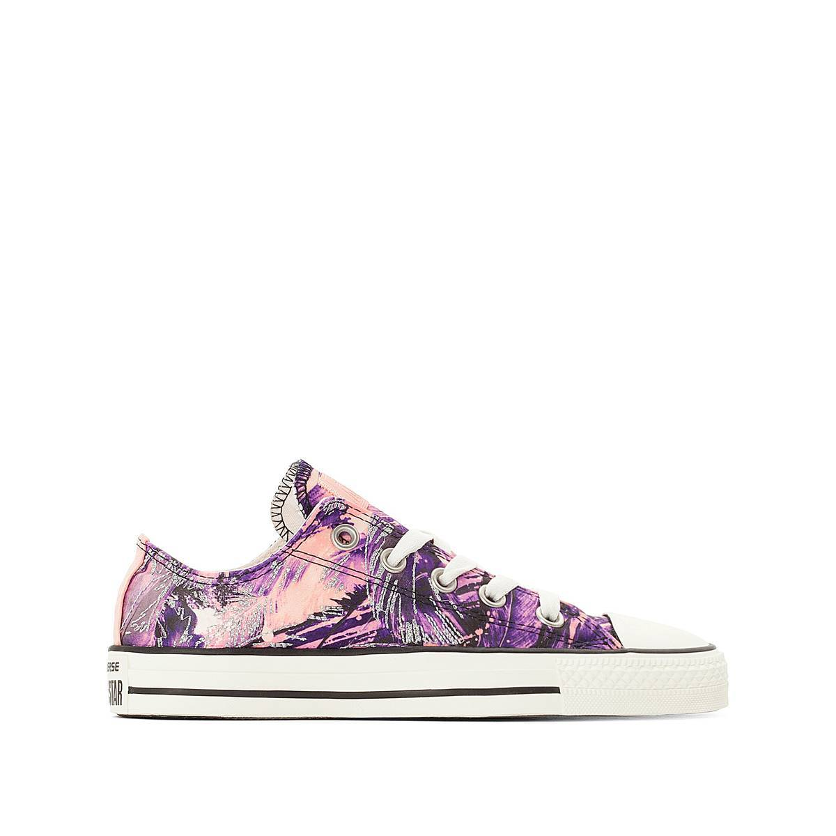 Converse Zapatillas CTAS OX FEATHER PRINT CANVAS azul