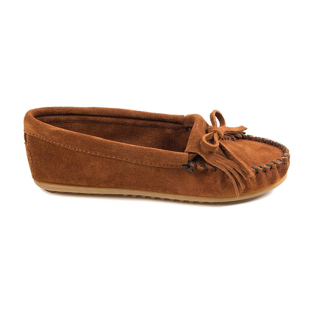 MINNETONKA Mocasines de piel DEKILTY marrón