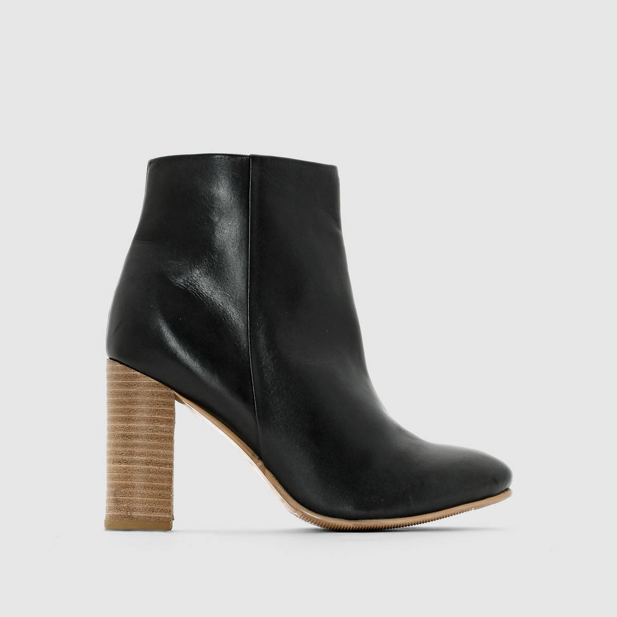 La Redoute Collections Botines de mujer negro