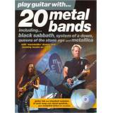 Music Sales Play Guitar With 20 Metal Band