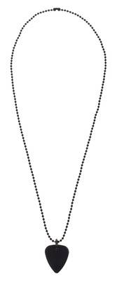 Timber Tones Necklace with Plectrum Black