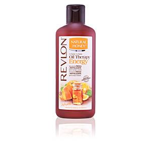 Natural Honey OIL THERAPY ENERGY aceite esencial naranja gel 650 ml