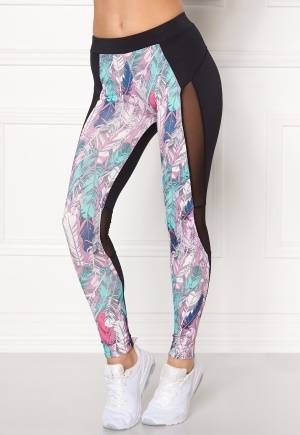 Drop of Mindfulness April Training Tights Black/Feather L