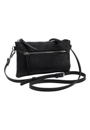 Pieces Monleon Crossover Bag Black One size