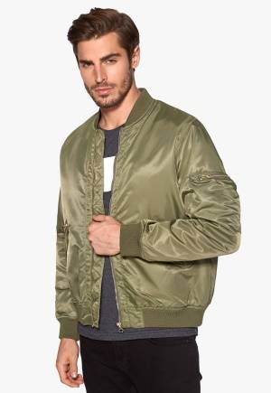 D.Brand Golden Zip Bomber Jacket Winter Moss XL