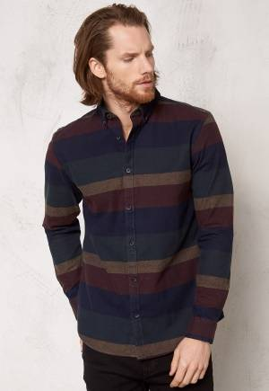 ONLY & SONS Frici LS shirt Night Sky S