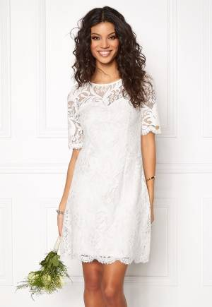 Chiara Forthi Michelle Lace Dress Antique white / Gold 38