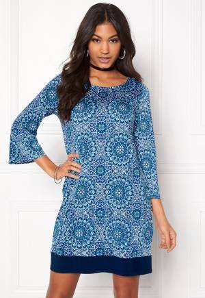 Happy Holly Belicia dress Blue 48/50S